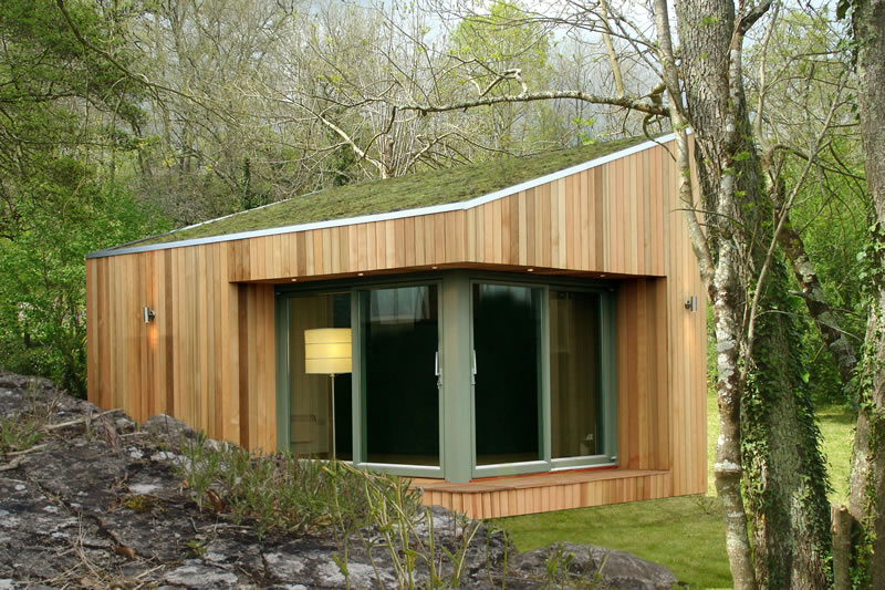 Garden studios and rooms by roomworks for Wooden studios for gardens