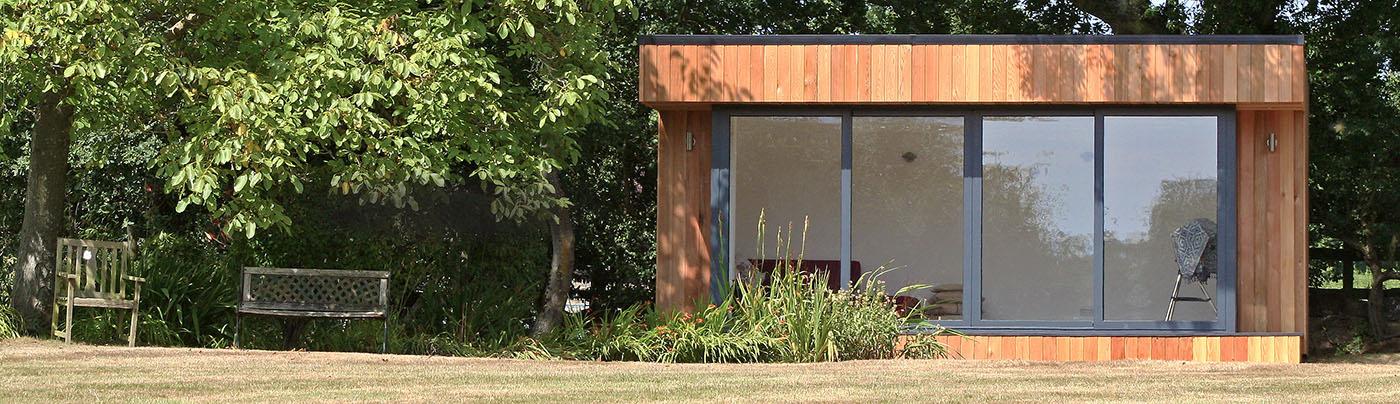 Garden studios and rooms by roomworks for Best garden studios
