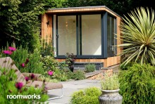 Garden studio in beautiful gardens